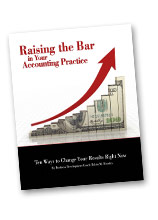 Raising the Bar in your Accounting Practice